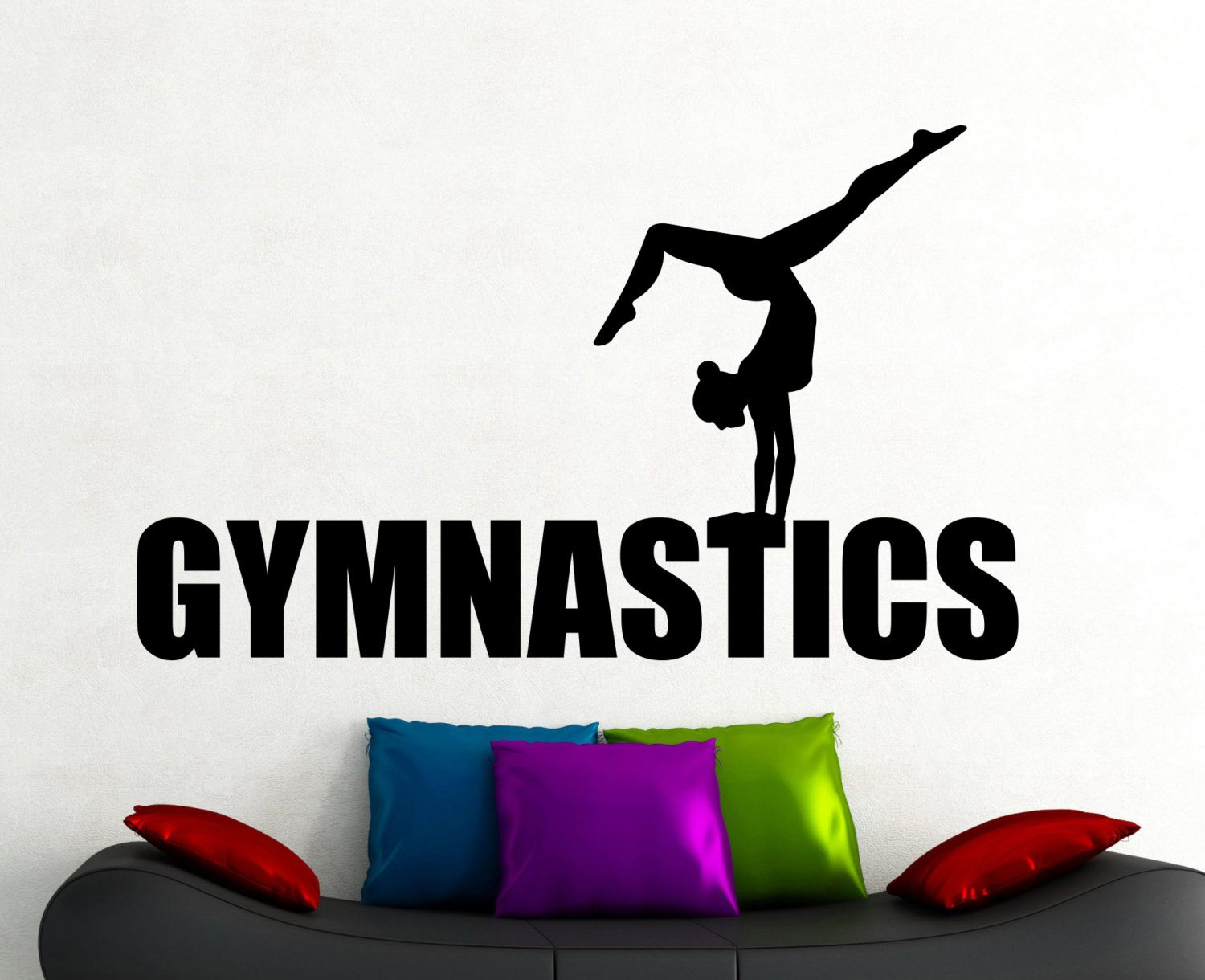 Sticker gym wall -  New Arrivals Gym Wall Decals Sticker