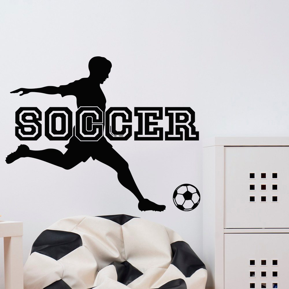 Delicieux Soccer Wall Stickers