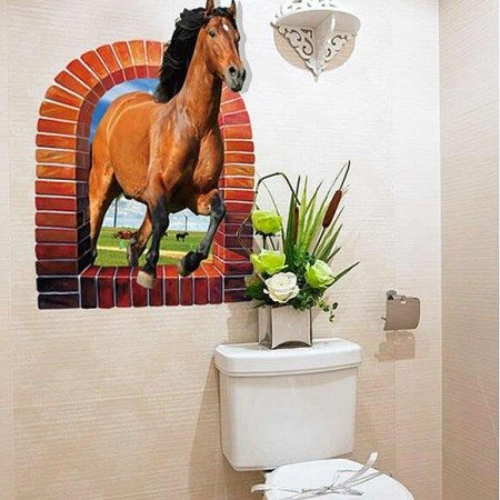 3D Wall Stickers Horse