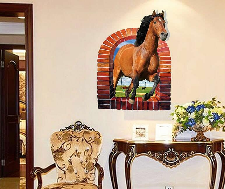 horse wall stickers | wall decals ireland | wall art | boys room