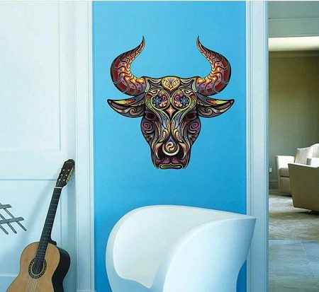 Bull Wall Sticker