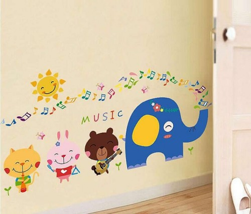 Animal wall decals ireland