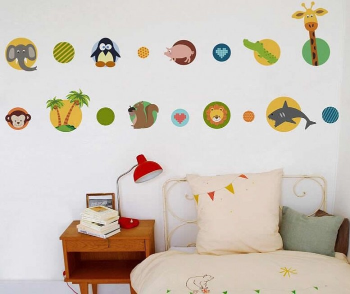 Animals Wall Decals For Kids