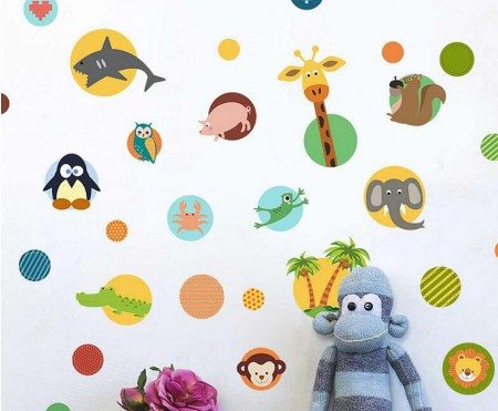 Animals Wall Stickers For kIds