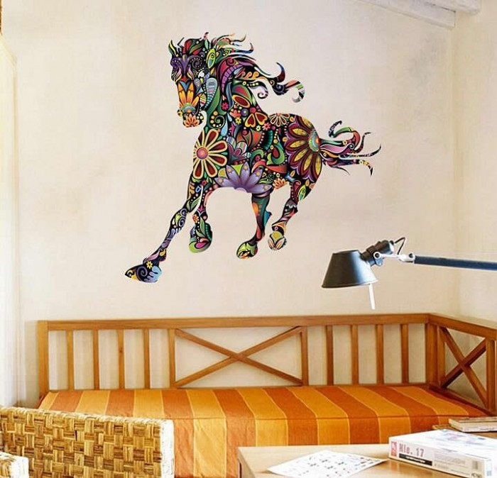 Horse wall art decals