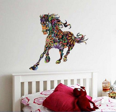 Horse wall decal stickers