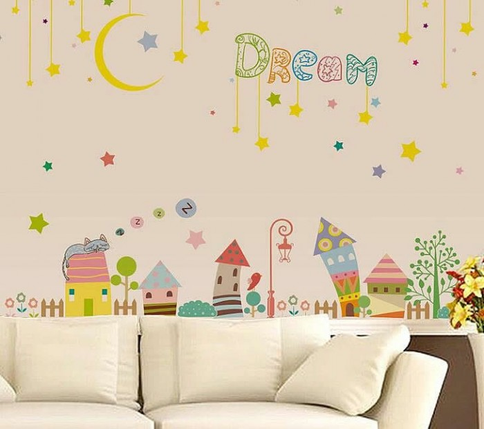 Sweet Dreaming Wall Stickers