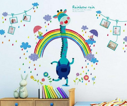 Rainbow Wall Stickers For Kids