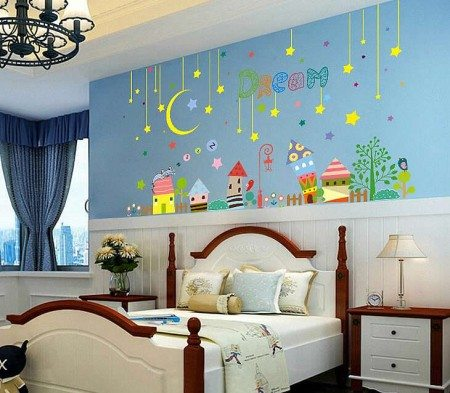 Stars wall Stickers For Kids