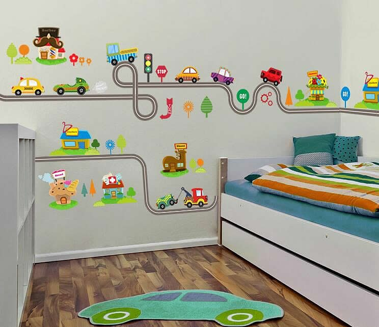 Exceptionnel Train Wall Stickers. Train Wall Decals