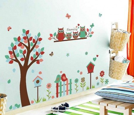 Tree Wall Stickers Decals