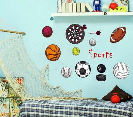 football wall art decals