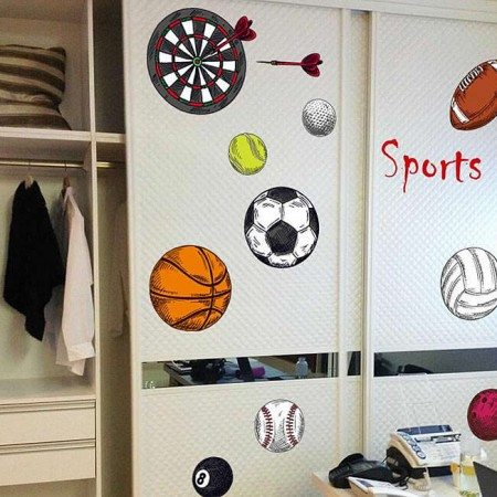 Sports Wall Decals Part 89