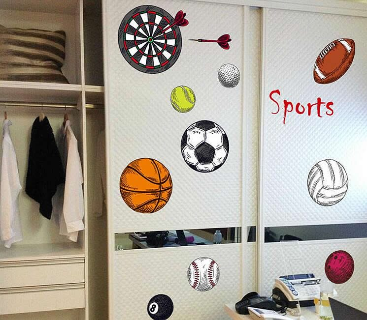 Sports Wall Decals Part 51