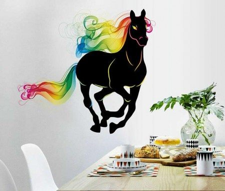 horse wall decals stickers