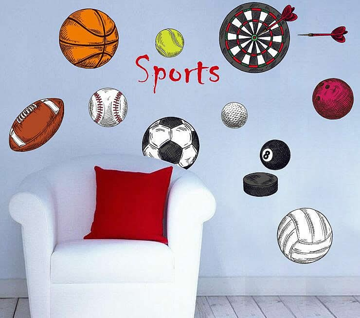 Delightful Sports Wall Stickers Part 30