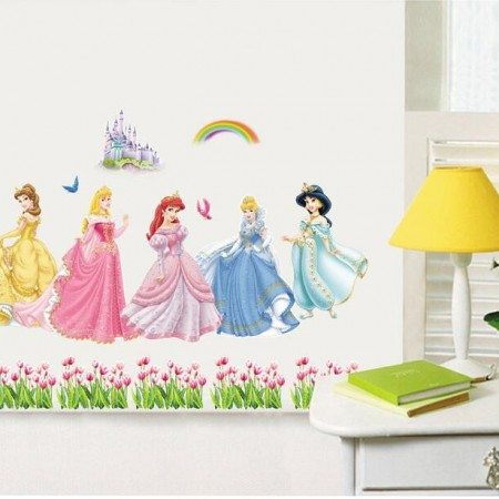Disney Princes Wall Sticker