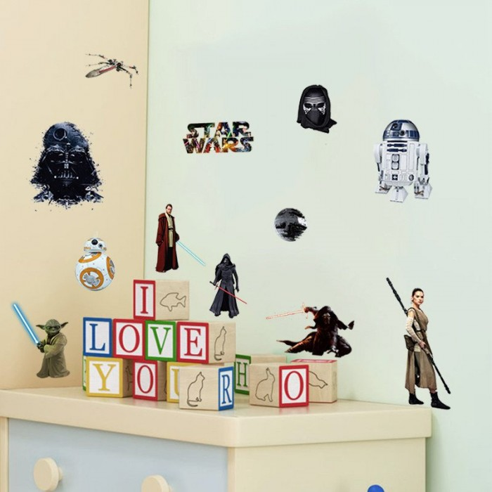 Star Wars Wall Sticker Decals