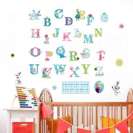 Alphabets Wall Decals For Kids Part 68
