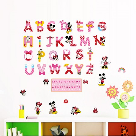Alphabets Wall Stickers For Kids Part 83