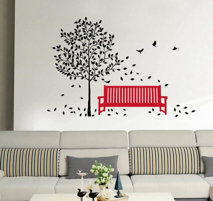 tree & birds wall stickers | nursery | 2 for €20 | wall decals