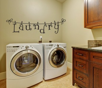 Laundry Wall Stickers