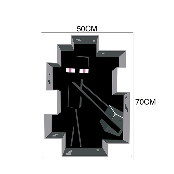 Enderman Minecraft Wall Stickers Wall Decals Wall