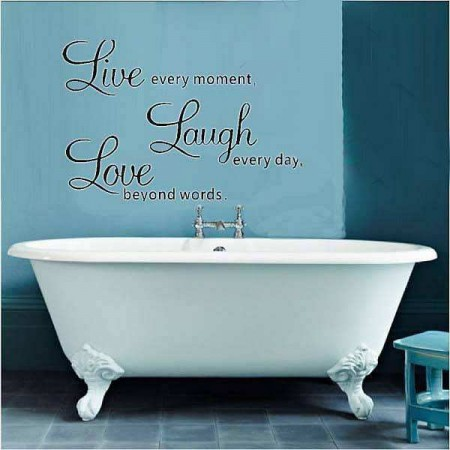 Bathrooms Wall Stickers