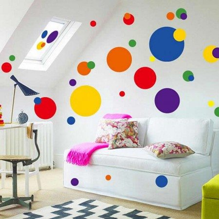 Multi-Color Wall Decals