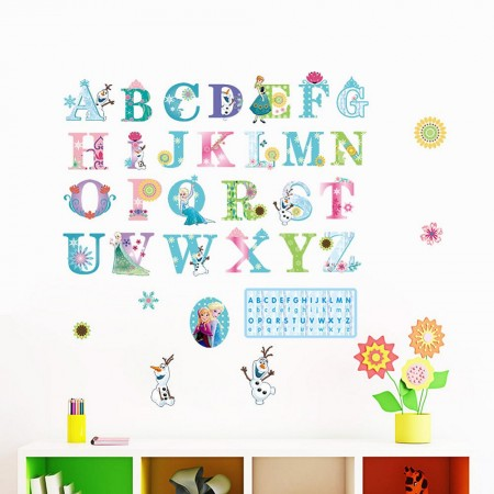 alphabets wall decals for kids