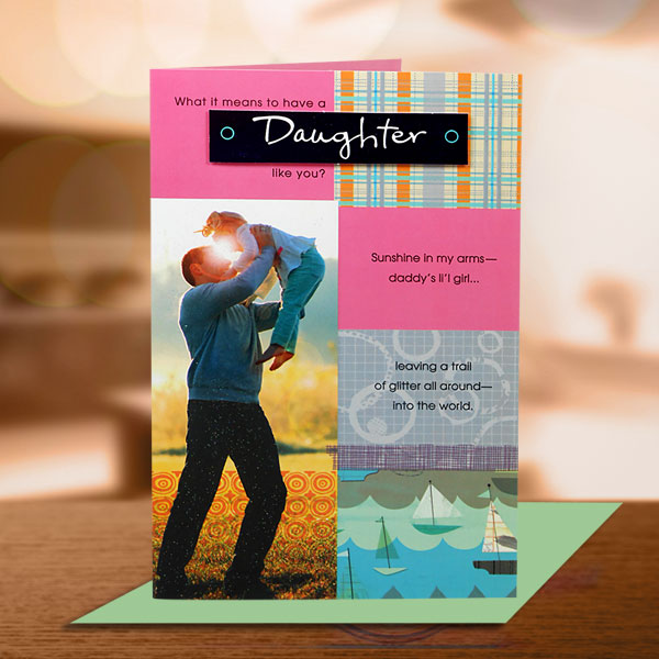 Daughter's Day Card