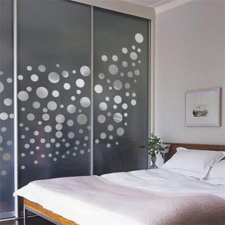 Sliver Dots Wall Stickers Part 82