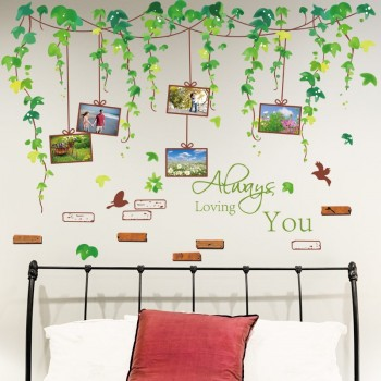 Greenery Wall Stickers