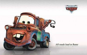 3D Disney Cars Wall Sticker