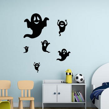 Flying Ghosts Wall Stickers