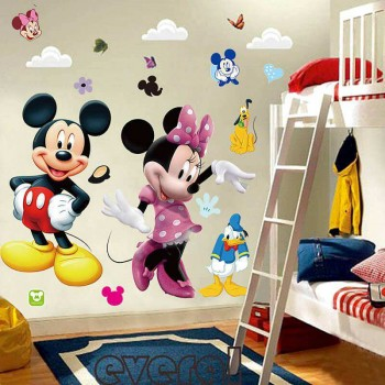Mickey and Minnie Mouse decal