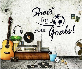 Shoot Goals Wall Stickers