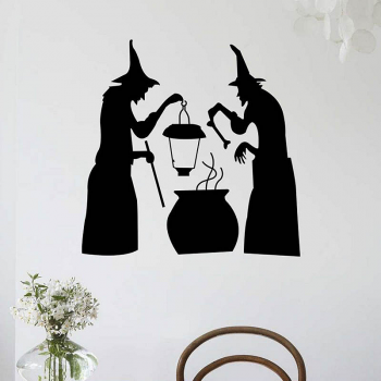 Halloween Cooking Wall Stickers