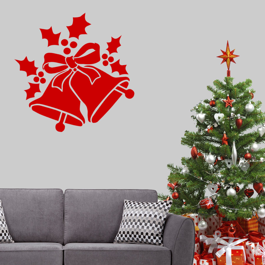 ... New Arrivals/Christmas Bells Wall Art Decal. ;  Part 69