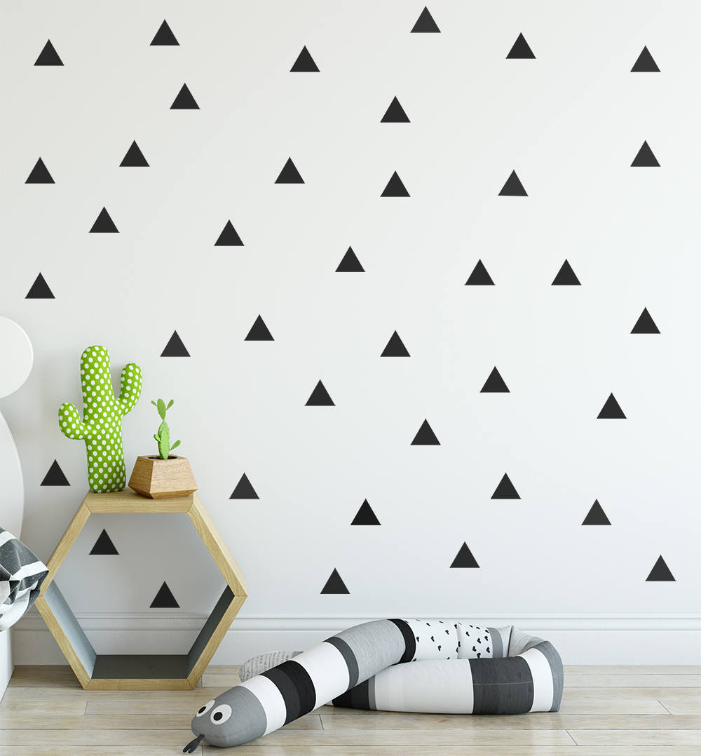 Triangle wall decal wall decals wall stickers for kids ireland wall quotestriangle wall decal amipublicfo Gallery