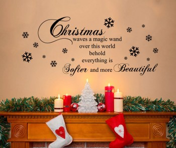 Christmas Quotes Stickers