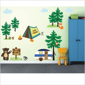 Camping Wall Decals