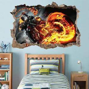 Ghost Rider Wall Sticker