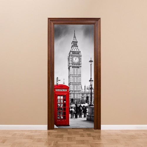 Big Ben door wall sticker decals