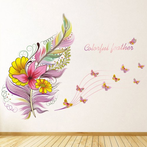 Feather Wall Decals