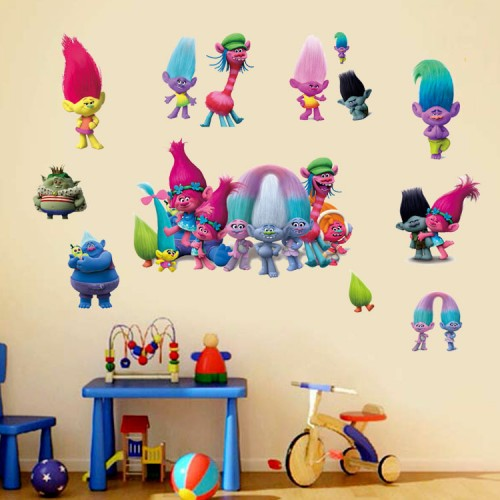 Trolls Wall Stickers