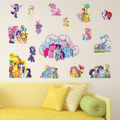 my little pony wall stickers