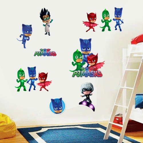 pj masks wall stickers