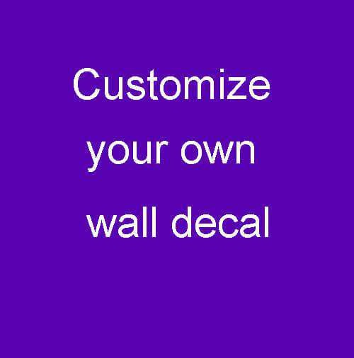 Personalised Wall Stickers & Decals