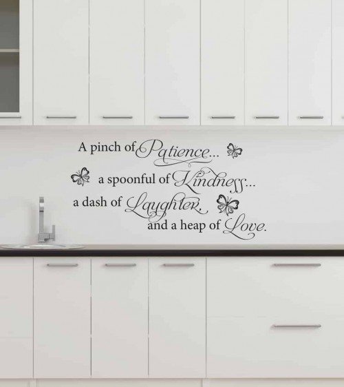 A Pinch Of Patience Wall Art Decal